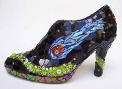 The REAL glass slipper.