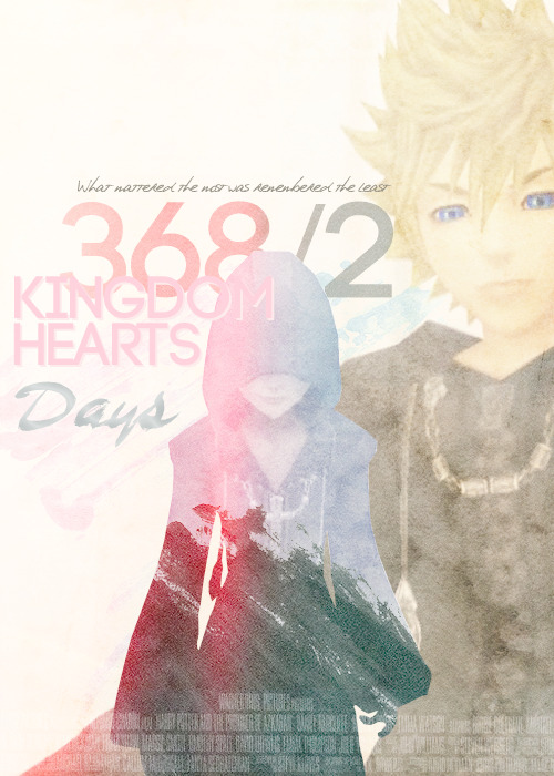 Kingdom Hearts Opening posters | Kingdom Hearts 368/2 Days