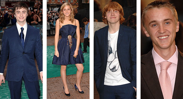 10 Years Of Harry Potter Premieres(x)