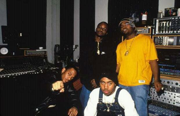 jeruthedamaja:  Nas, Raekwon, and Mobb Deep