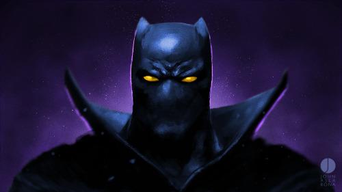 johnaslarona:  T'Challa Black Panther  http://johnaslarona.bigcartel.com/Facebook Instagram  Twitter Store  Tumblr