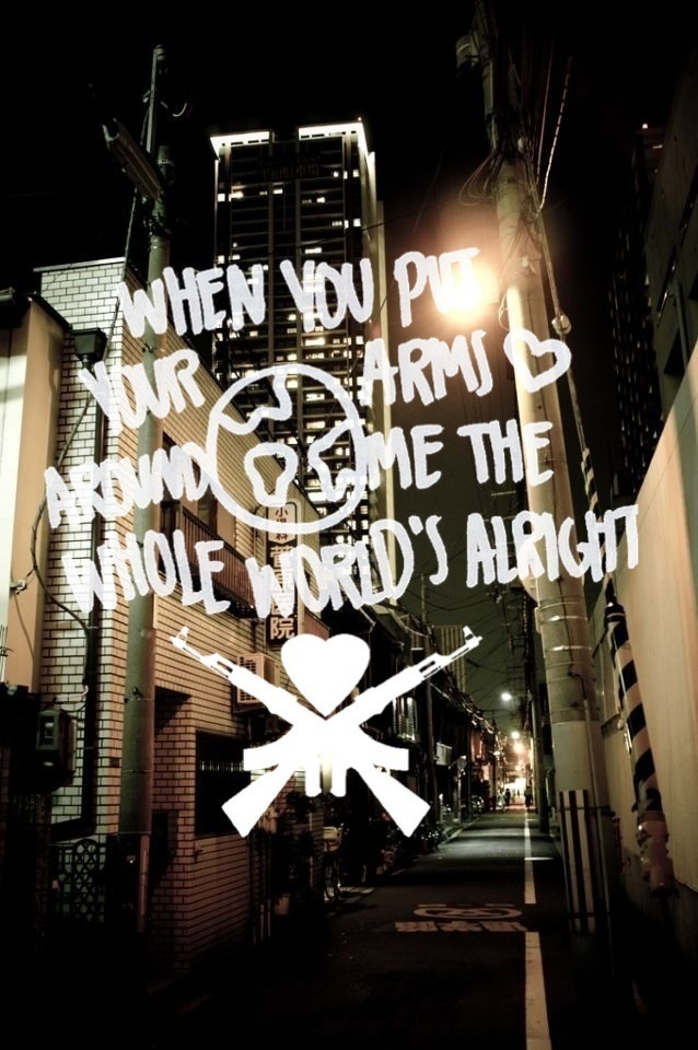 tit1efight:  Love Your Friends, Die Laughing // Man Overboard