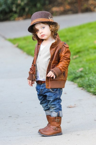 Rachel Zoe's son Skyler Berman out + about in L.A. on Saturday.