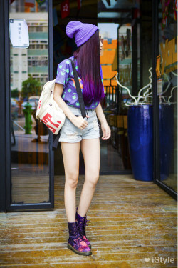 yes-asianstreet:  iStyle Click here for more Asian Street Fashion! (do not remove the source)