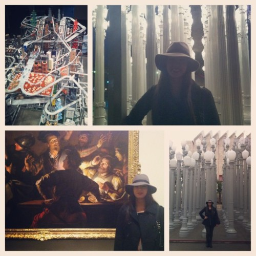 Beautiful rainy day at spent at LACMA. Finally got to see Bodies and Shadows: Caravaggio and His Legacy. Absolutely love it and it really got me excited for my speech that I chose to do on him. If you are at all interested in art you should really go see this! It ends February 10th #Caravaggio #LACMA #oneofmyfavoriteartists #thebadboyoftherenaissance #Chiaroscuro #art #arthistory