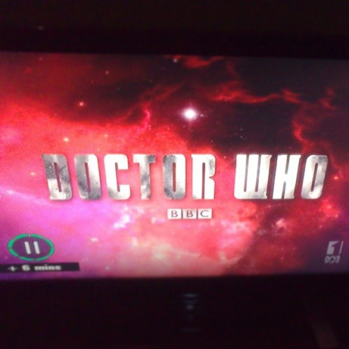 New Dr. Who. Hehehsizdnshgsuiowagaf