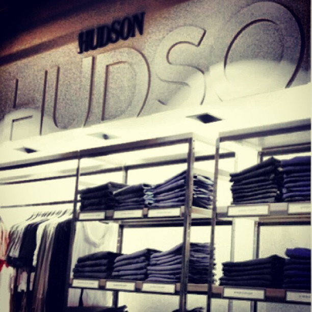 @hudsonjeans heaven at SAKS! @s5a #denim #dbar #fashion #letyourselfgo