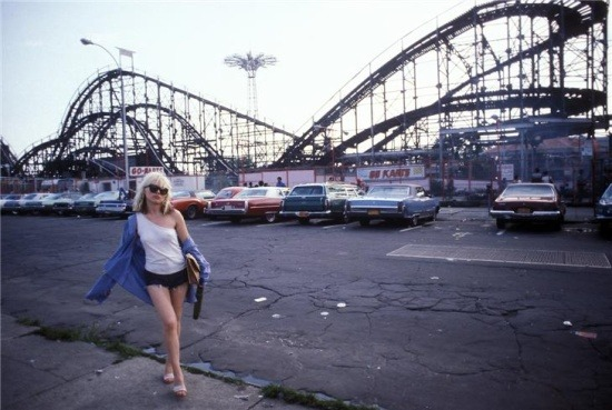 iconm:  Debbie Harry - Blondie, Coney Island, NY, 1977