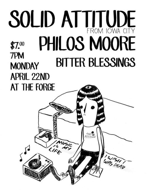 diybirmingham:  Solid Attitude / Philos Moore / Bitter Blessings @ The Forge » RSVP