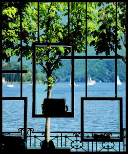handa:  Lugano lake from a shop, a photo from Ticino, East | TrekEarth