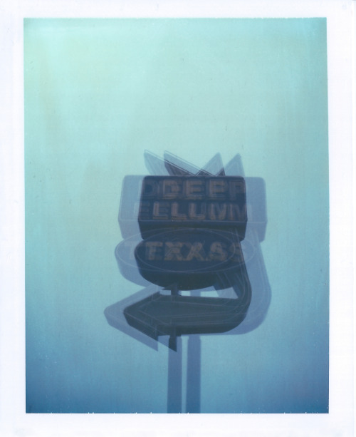 Deep Deep Ellum Ellum - double exposure | #polaroid 669