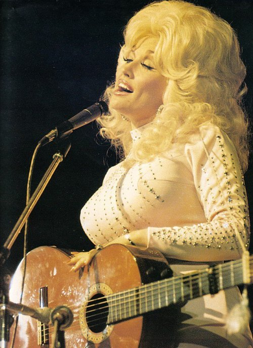 Dolly Parton performing circa 1970s