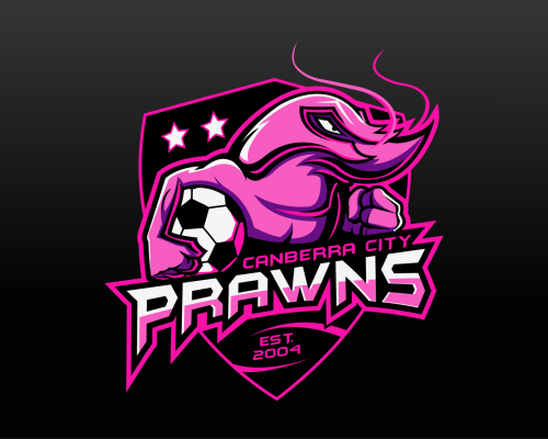 "Logo for ""Canberra City Prawns"" (Australia)"