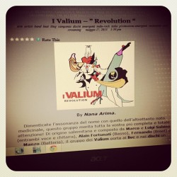I Valium Revolution #dischi #album #articolomusicale #blogging #band #recensioni #beat #indie #rock