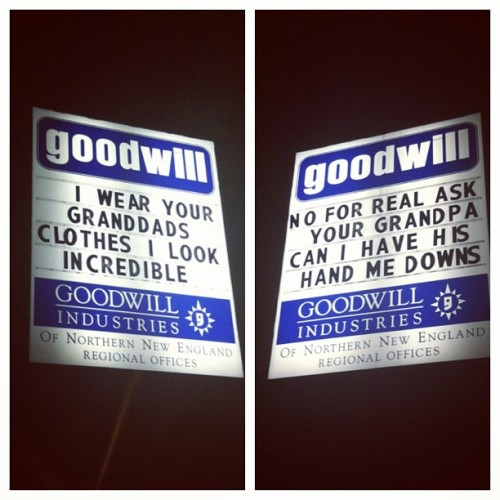 mandimayhem:  Yes. #goodwill #thriftshop #macklemore #awesome  So funny!