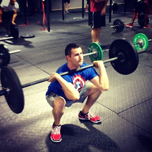 95lb #squatclean. Working in getting #strength back! #crossfitfrenzy #crossfit #wod #workout #fitness #strength #weightlifting #sweat #sports #athlete #boxjunkie #exercise #amrap #getafterit #instafitness #instastrength #liveultimate #livebetter #wodsquad #exercise #bestrong #instafit #fitfam #getfit #beastmode #boxlife