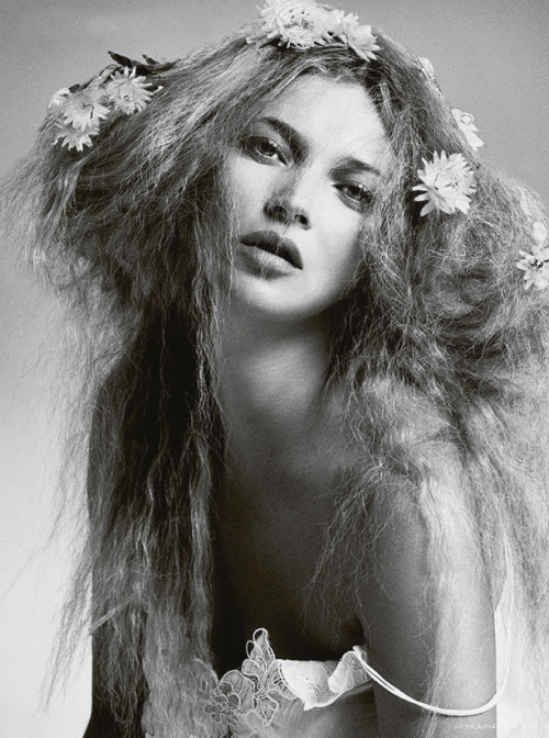 "vogueweekend:  ""Kate"", Kate Moss photographed by Daniele & Iango in i-D Pre-Spring 2013"