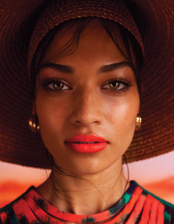terrencecosby:  Shanina Shaik photographed by Casey Brooks for Fashion Gone Rogue.