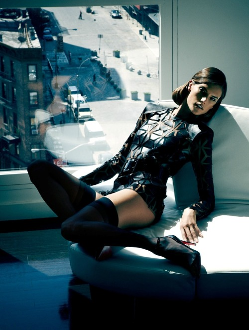 michaelrecycles:  opaqueglitter:/Alessandra Ambrosio by James Macari for Vogue Brasil December 2011