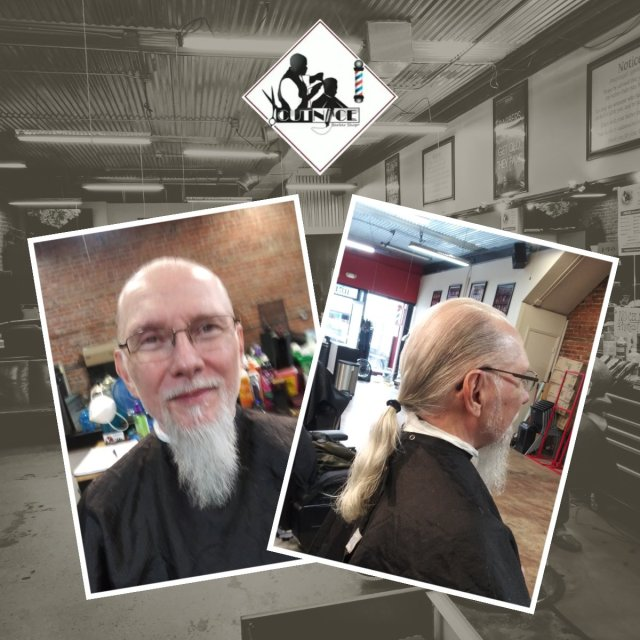 The barbers at Cut Nice want our clients to feel the traditional atmosphere as they walk in the door.  Cut Nice Barbershop 1137 ... via DMTBarberShop.com Barber.Tube, DMTBarberShop #Gallery#hairmenstyles#lovethislook#stylediaries#men#menstyle#beardie#barberworld#fade#hair#nyclife#b
