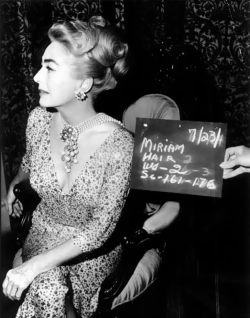 operaqueen:  Joan Crawford on the set of Hush, Hush, Sweet Charlotte.