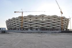 Further progress on this 65,000 capacity behemoth in Basra, Iraq.