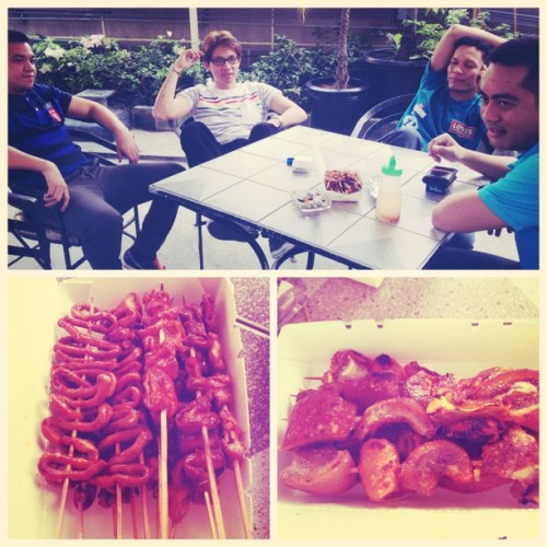 Isaw afternoon with the #NFM boys. #food #bodognation #work