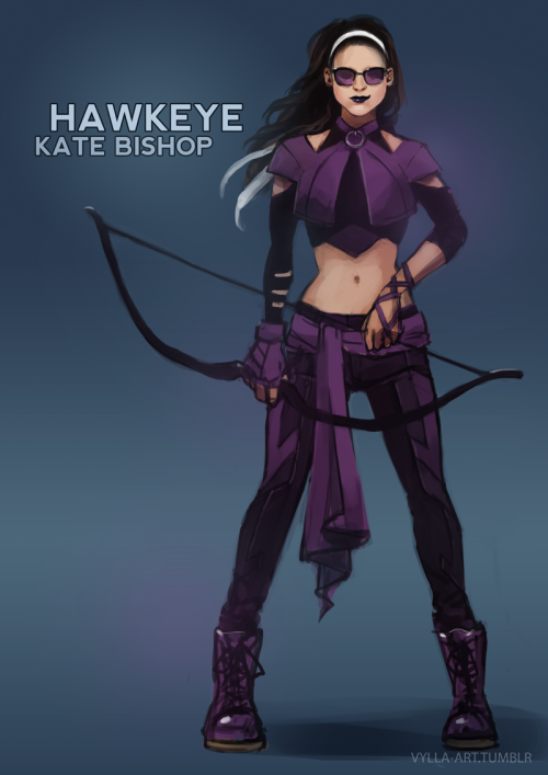 vylla-art:  Kate Bishop: Hawkeye - 24/46