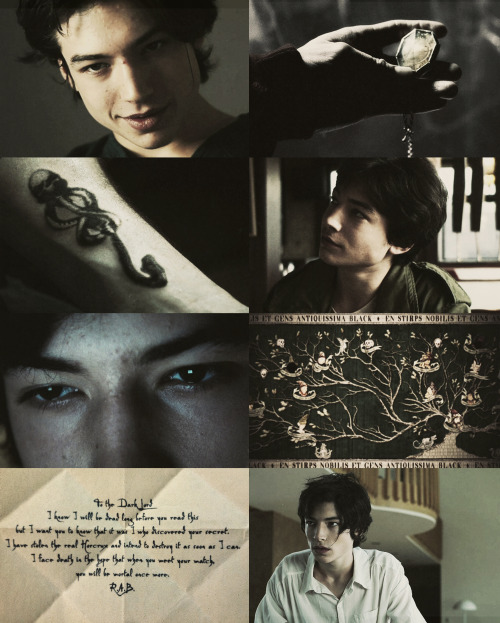 MARAUDERS ERA DREAMCAST  |  Ezra Miller as Regulus Black