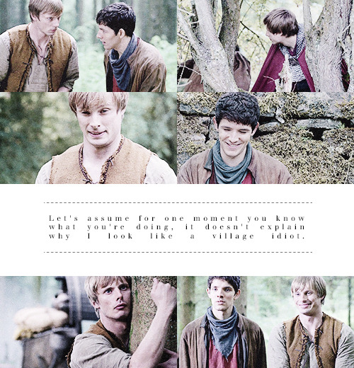 Merlin meme - three enchantments  » [1] Simpleton Arthur