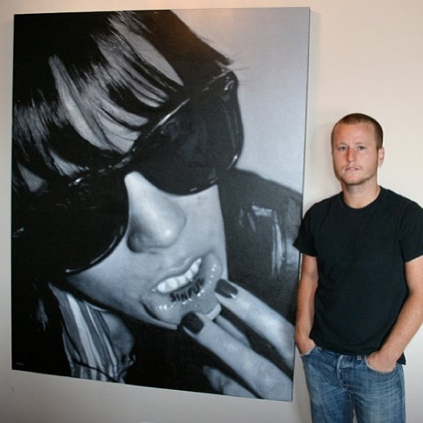 Check out the large scale photorealism works of artist @nick_flatt currently on exhibition at White Walls Gallery in San Francisco.  #painting #nickflatt #whitewalls #photorealism #painting #sanfrancisco #art #artist #oilpainting