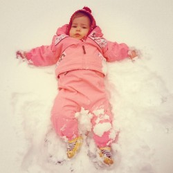 My snow angel.
