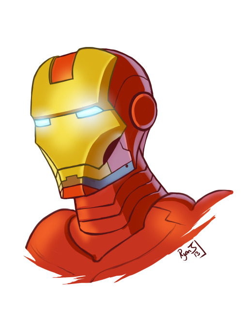 I Love Ironman, but I've always been terrriified… of drawing his suit… Still working on overcoming my fear of the rest of the armour, but today I realised once you learn the human head a bit more, you realise the helmet is just a simplified skull! lol But I'm sure you all knew that already :p hahah