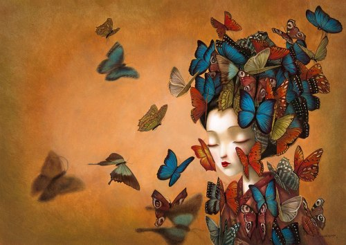 Butterfly amoureuse by Benjamin Lacombe