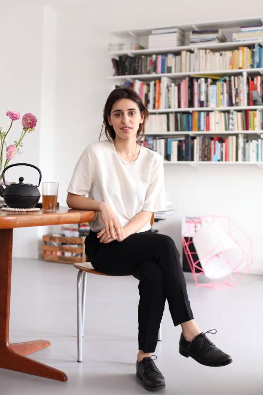 At Home with Maryam Zaree, more here.