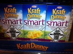 Kraft thinks they're outsmarting us by adding flax and omega 3's to their GMO Dinner. Not so smart Kraft, we're on to you. Via Creating A World I Would Be Proud To Live In