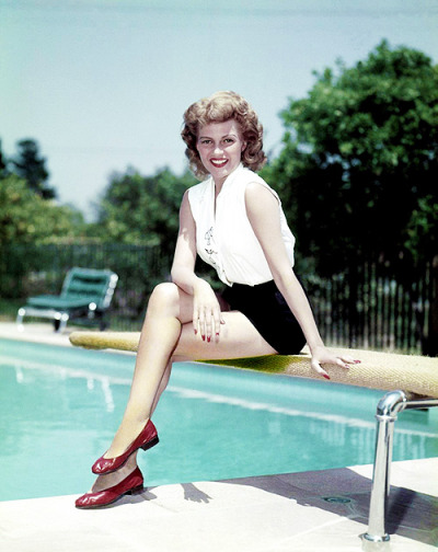 thisisnodream:  Rita Hayworth, circa 1950s.