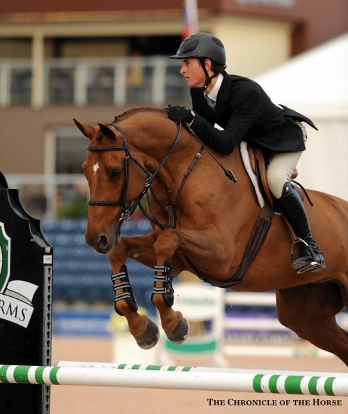 forever-equestrianism:   Michael Hughes (C) to whoever the photographer is