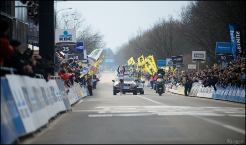 winner: Fabian Cancellara (CHE) (by kristof ramon)