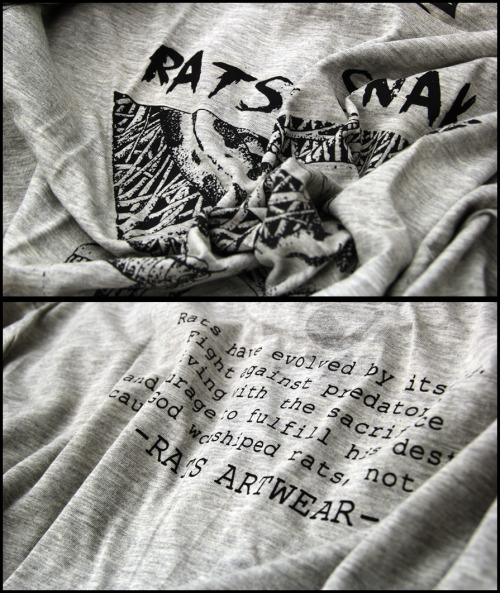 rats-artwear:  Sneak peek our new tees