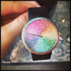 How insane is this one of a kind Dior timepiece?!