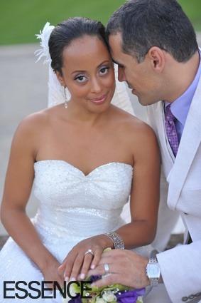 myblackisthenewblack:  Actress Essence Atkins and Husband Jaime Mendez (Hispanic)Online lovers: Essence found her husband on Match.com. They had a son named Varro Blair Mendez in 2011.