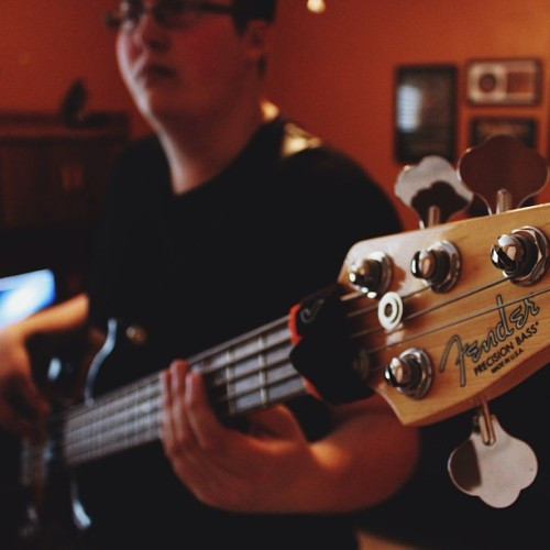 carsonchilders:  Bass shot.