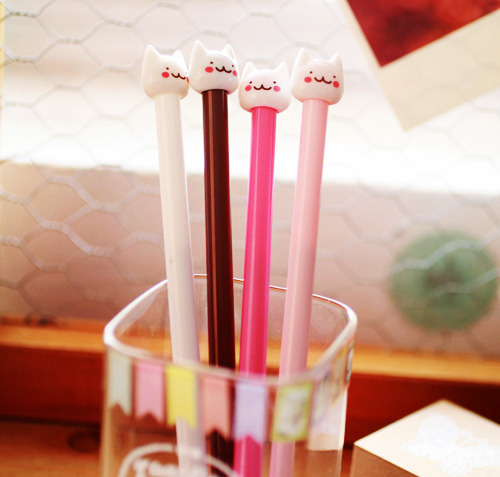 Cute kitty pens! ^-^