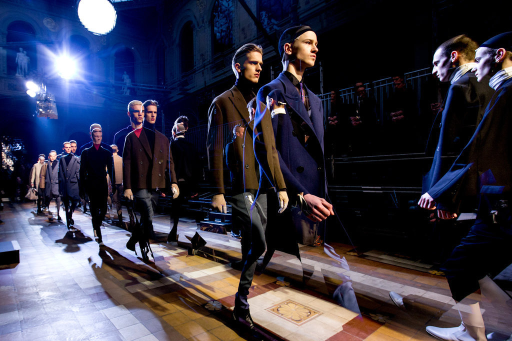 Lanvin. Scenes from the Paris fashion week photo diary of Kevin Tachman/BackstageAT.