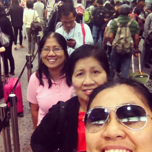Just landed! (at Hong Kong International Airport | HKG | 香港國際機場)
