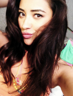 Shay Mitchell for 'Self' Magazine BTS (June 2013)