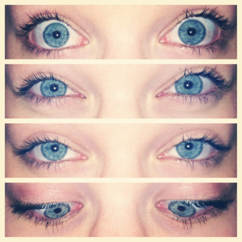 my eyeballs