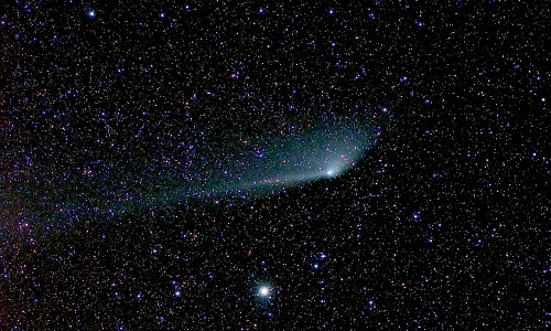 Comet PanSTARRS Anti-Tail