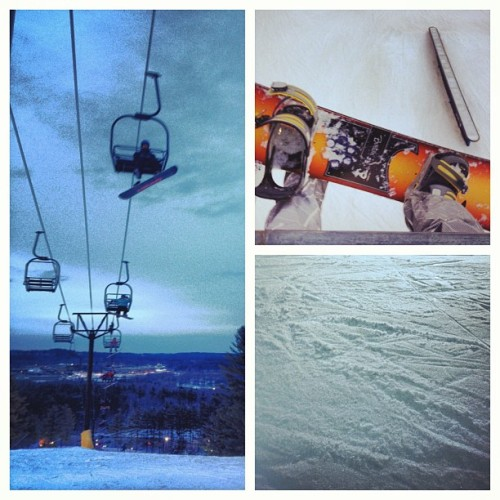 Snowboarding at Nashoba with the gang #longweekend